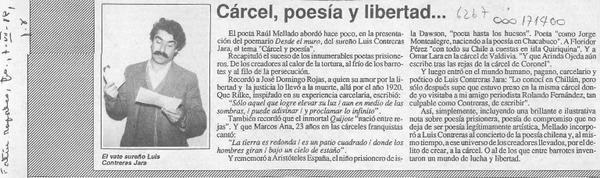 Cárcel, poesía y libertad --  [artículo].