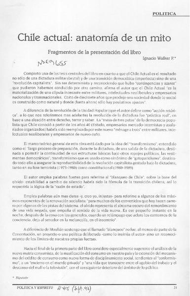 MOULIAN, TOMAS - Biblioteca Nacional Digital de Chile
