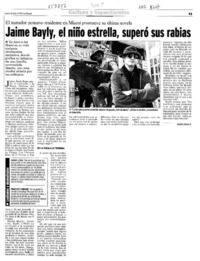 Jaime Bayly El Nino Estrella Supero Sus Rabias Articulo Andres Gomez B Biblioteca Nacional Digital De Chile Periodista y escritor peruano que jaime bayly. jaime bayly el nino estrella supero sus rabias articulo andres gomez b biblioteca nacional digital de chile