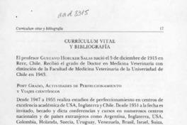 Curriculum Vitae Y Bibliografia Articulo Biblioteca Nacional