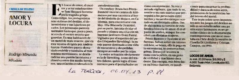ac9a5b38f94 La Tercera (Diario : Santiago, Chile) - Biblioteca Nacional Digital ...