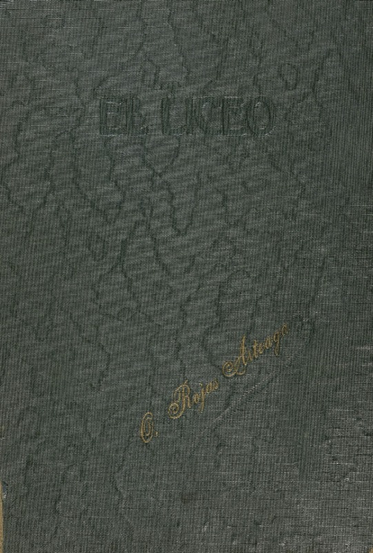 El Liceo Revista Literaria Científica I Artística De Los Alumnos